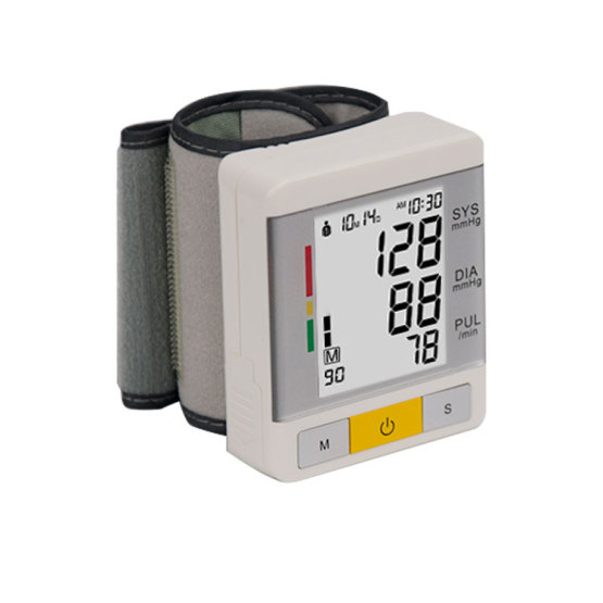 Hospital Electronic Wrist BP Blood Pressure Monitor