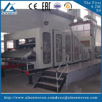 New condition ALSL-3300 juet carding machine cotton waste carding machine