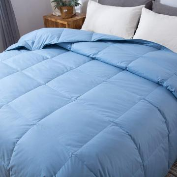 100% Cotton Quilted Down Comforter with Corner Tabs