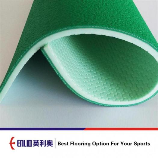 Enlio PVC Badminton court mat with with BWF