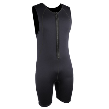 Seaskin Chest Zip 2mm Men Short John Wetsuit