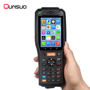 Handheld Android Bus ticketing POS with printer