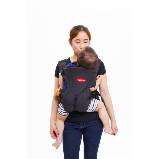Black Soft Shoulder Straps Baby Carrier