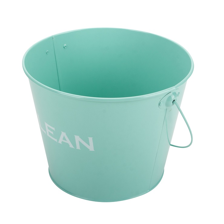 Ice Bucket Galvanized