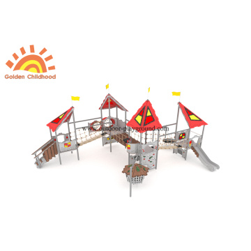 Large Multiply Slide Swing Equipment For Kids