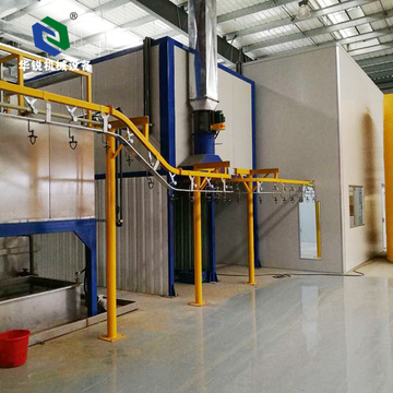 Industrial Automatic Aluminum Electrostatic Powder Coating Line