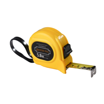 7.5m/25mm steel tape measure yellow case
