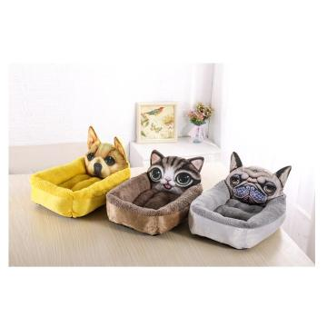 Cartoon kennel-warm cat litter mattress