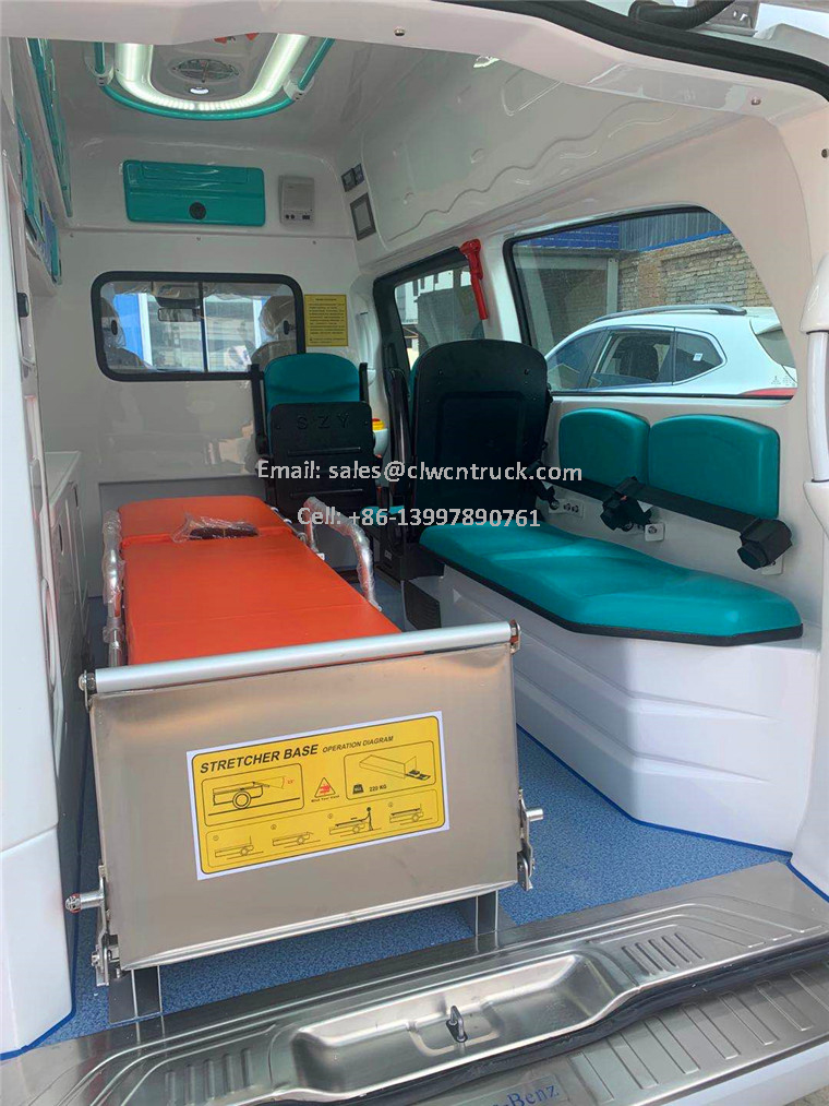 Patient Transport Vehicle Inner