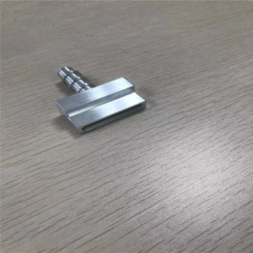 CNC machining Aluminum spare part for heat sink