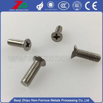 Hot sale molybdenum screw and nut