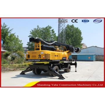 DL-360 wheeled hydraulic drilling rig machine