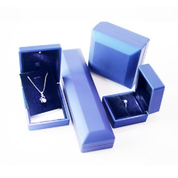Customized PU Leather Necklace Ring Packaging Box