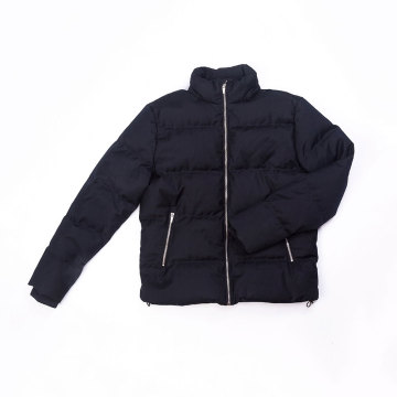 Men`s puffy down jacket