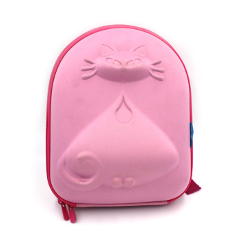 New style lovely hard shell cute animal kids cartoon backpack