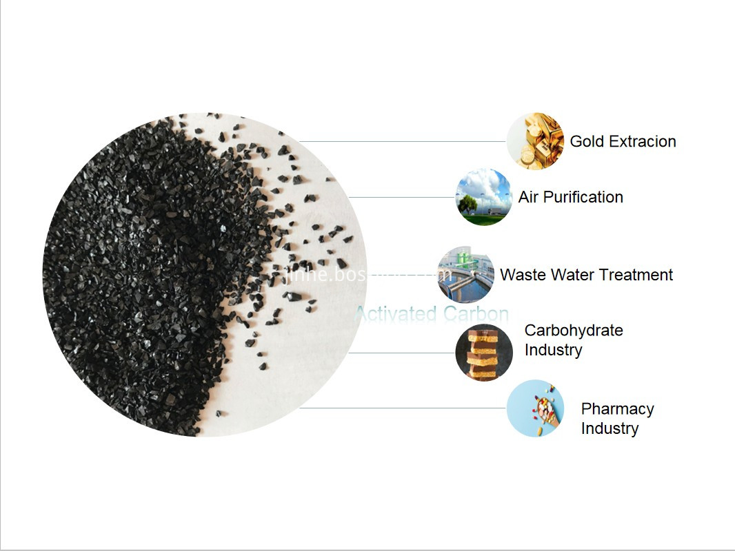 Coal Based Activated Carbon Extruded 4mm