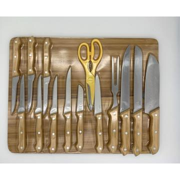 15pcs kitchen kinfe set