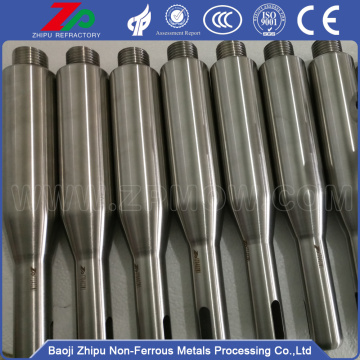 Molybdenum processing parts for single crystal furnace