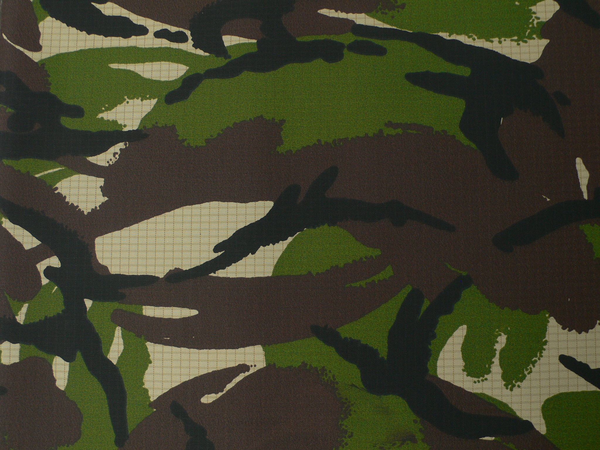 CVC Intewveave Camouflage Fabric with Membrane