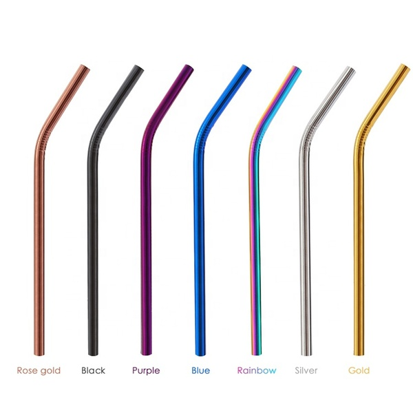 Wholesale Custom Food Grade Stainless Drinking Straw Set
