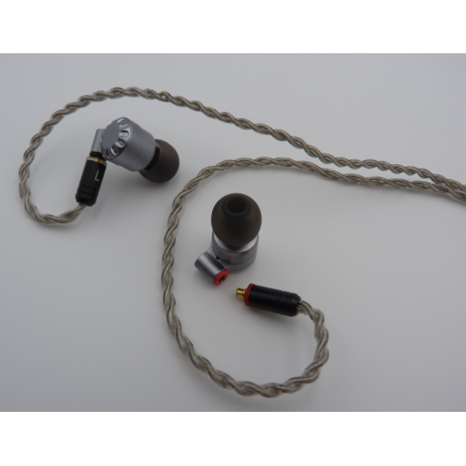 Monitor Earbuds with Dual Drivers& MMCX Detachable Cables