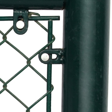Hot dipped galvanized pvc coated football field chain link fence
