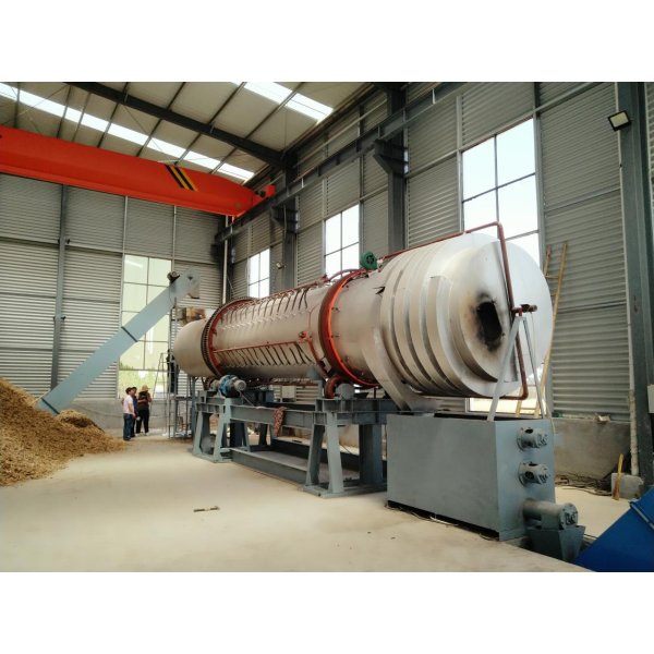 continuous carbonization furnace