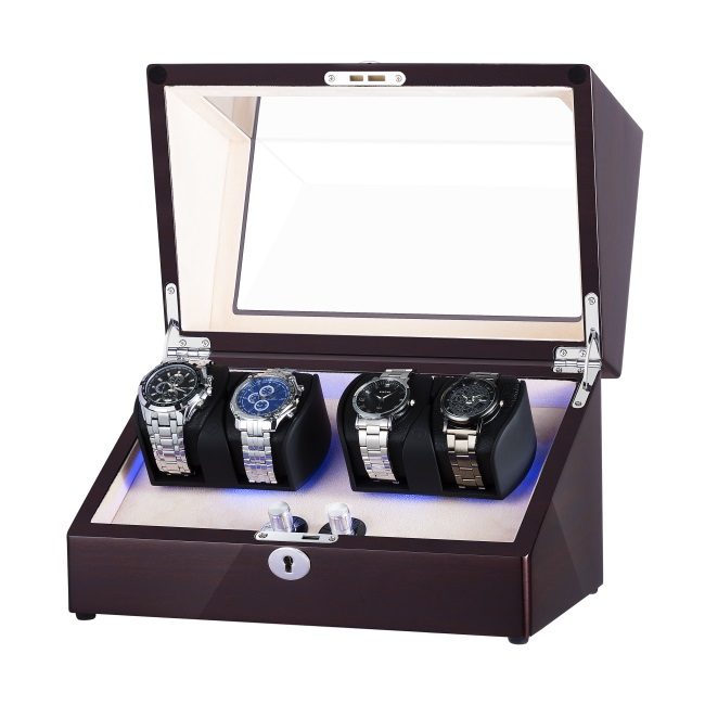 Two Rotors Perpetual Motion Watch Winder