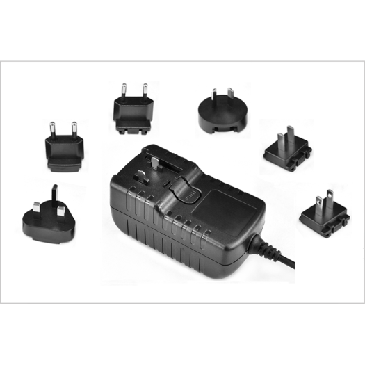 16V Interchangeable Plug Power Adapter For Camera