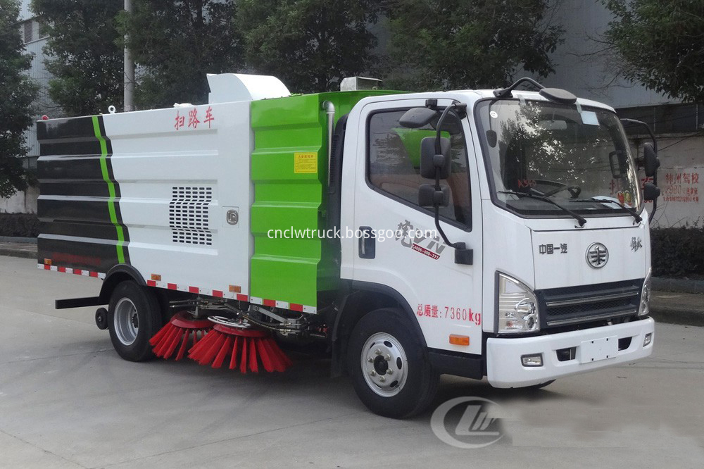 road sweeper truck for sale 1