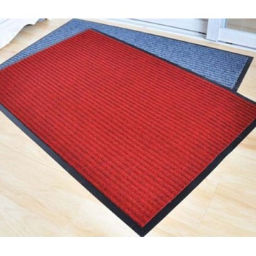 High quality Polyester Stripe Mat with PVC Backing