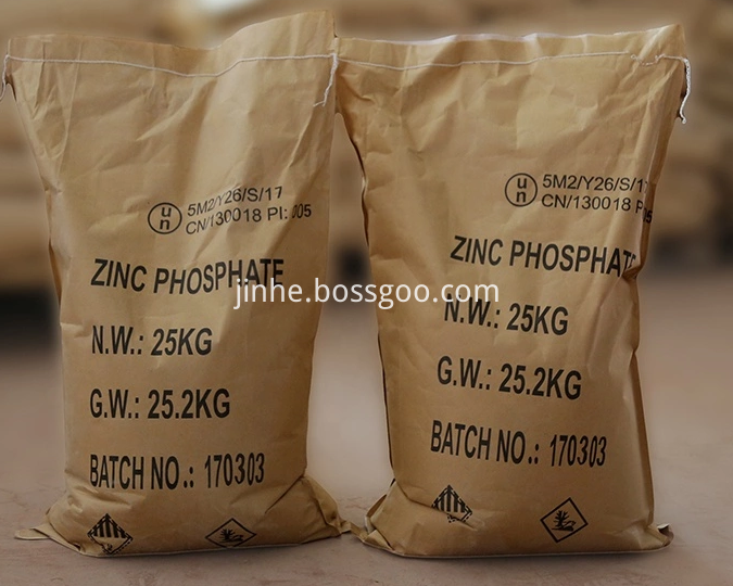Zinc Phosphate Chemical Formula For Anti-Corrosion Paint