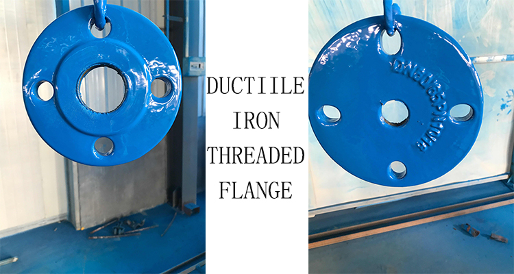 DN80 DI THREADED FLANGE
