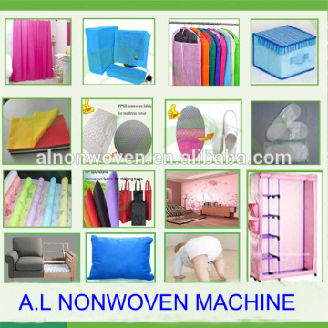 2400mm Double S Spunbounded Nonwoven Fabric Making Machine