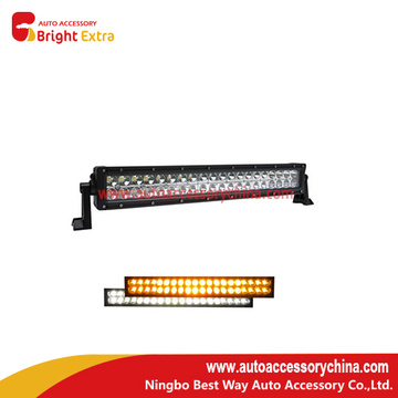 120W Led Work Light Bar White And Amber