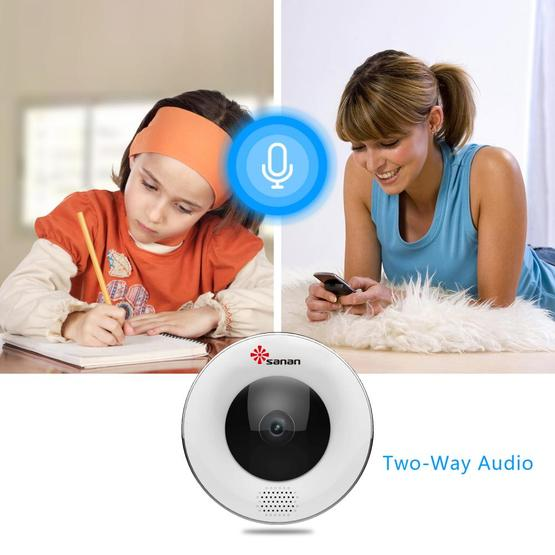 Panoramic Surveillance WiFi Camera