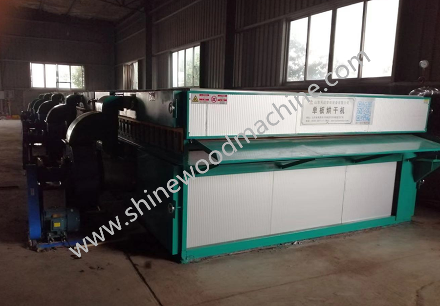 Face Veneer Drying Machine