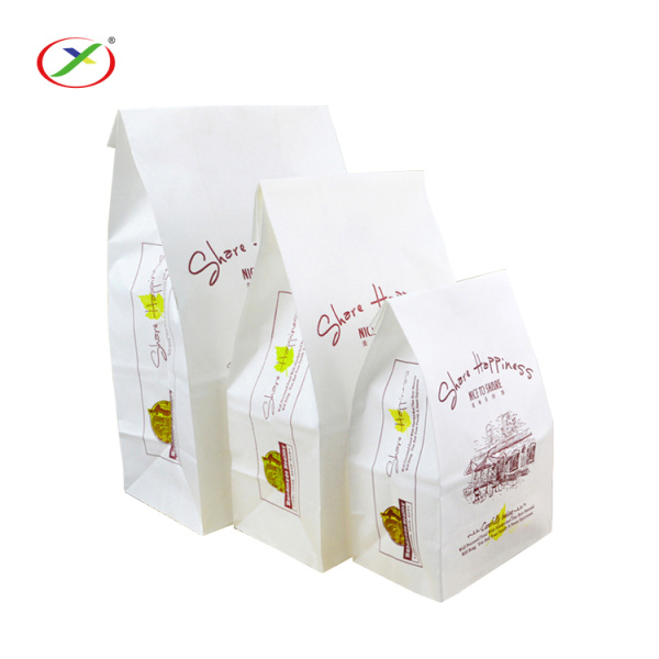 FSC Certificate biodegradable bread paper bag