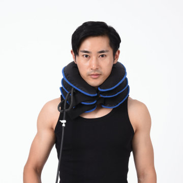 3 Layers Adjustable Inflatable Cervical Neck Traction Collar