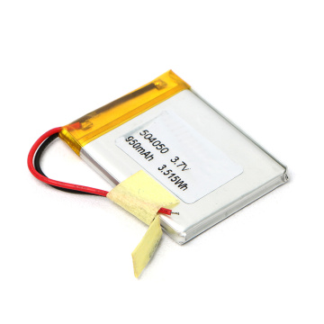 504050 3.7V 950mAh Lipo Battery with Best Service