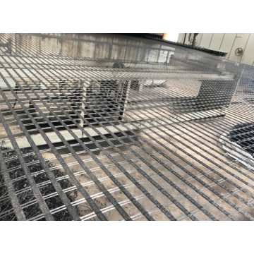 100/100KN Biaxial Polyester Geogrid