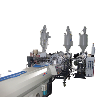 PP/PE Three-layer Silence Foam pipe extrusion machine