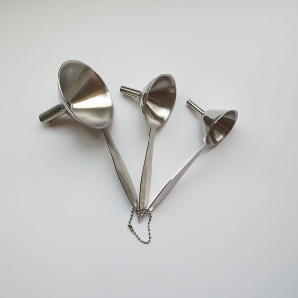 3 -Piece Stainless Steel Funnel Set
