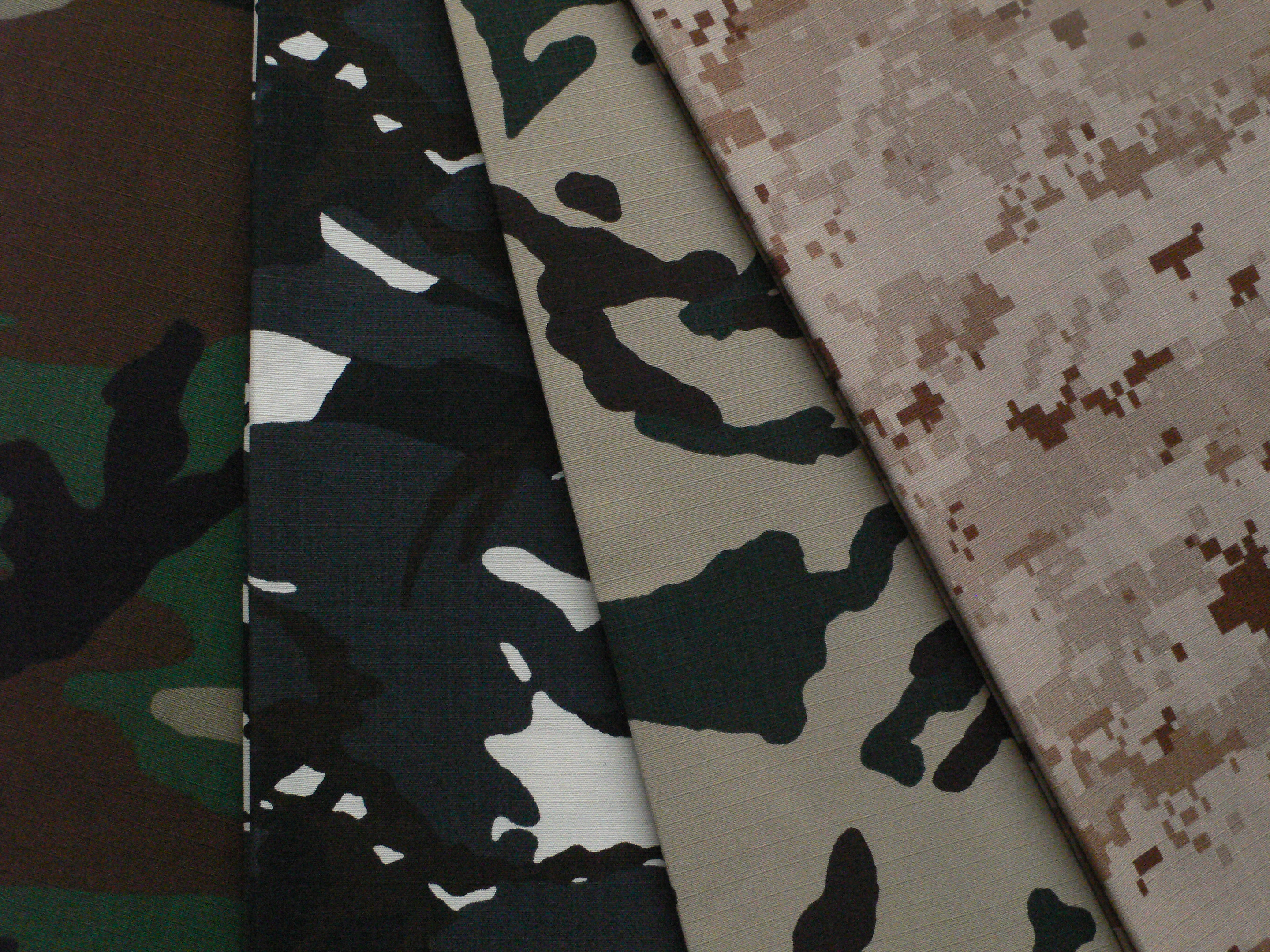 Middle East Nylon Cotton Military Camouflage Fabric