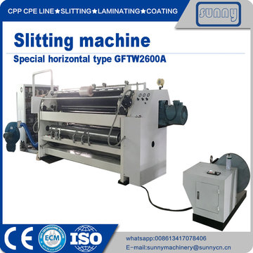 Roll to roll slitting rewinding machinery