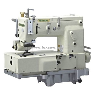 8-needle Flat-bed Double Chain Stitch Sewing Machine