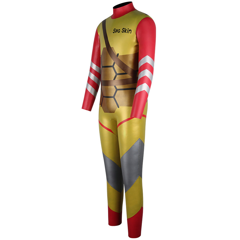 Seaskin Wetsuit Kids Back Zip