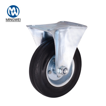 5 Inch Rigid  Rubber Caster