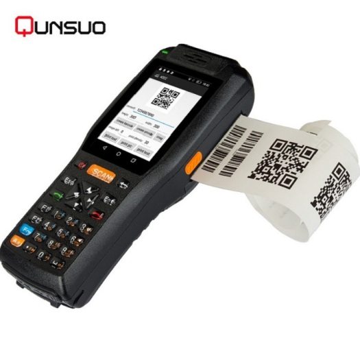 Handheld Android Terminal with NFC Card Reader