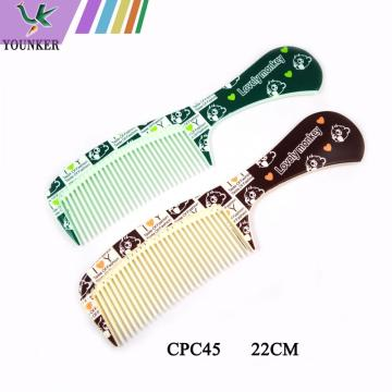 Wholesale cartoon plastic hair comb